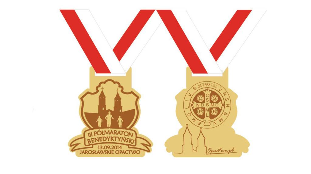 medal benedyktyński 2